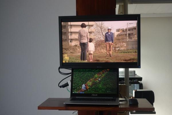 PCディスプレイでテレビを見る