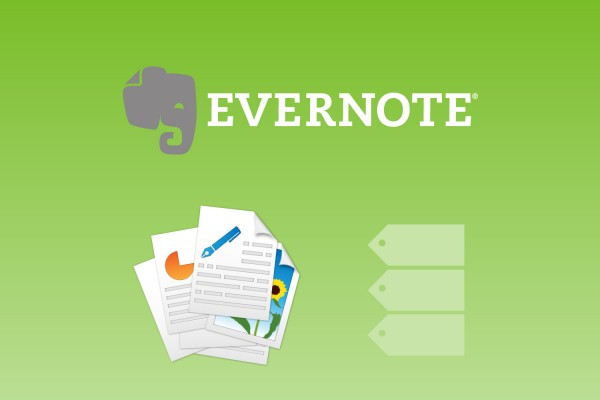 How to organize evernote with simple way by using tags