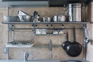 イケアハック Grundtalキッチンラックを壁に固定せずに設置する方法 Life Design Edit