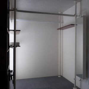 Building loft storage with ikea stolmen 2