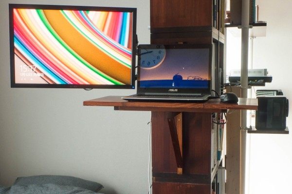 How to make standing-desk has butterfly and slide mechanism